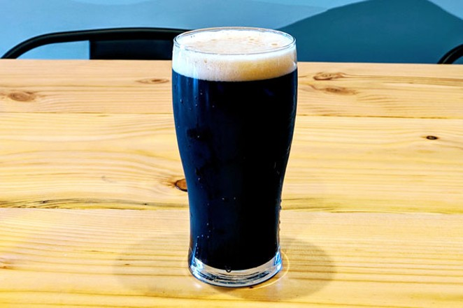 The Black Ace CDA from Bevel Beer stands out at this new brewery. - HEIDI HOWARD