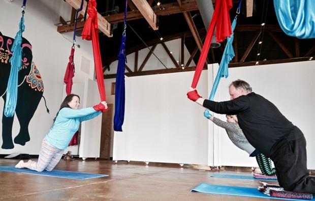 20/40/60: Aerial Yoga