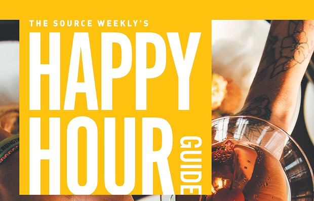 Happy Hour Guide - Winter 2019