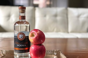 Vodka from Apples