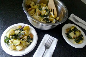 Kale and Potato Salad