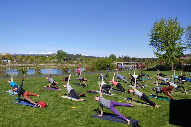 Outdoor Yoga Flow