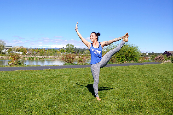 Outdoor Yoga + Fit in the Old Mill