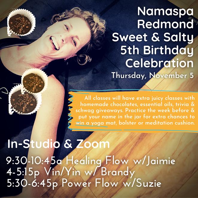 Namaspa Redmond Sweet & Salty 5th Birthday