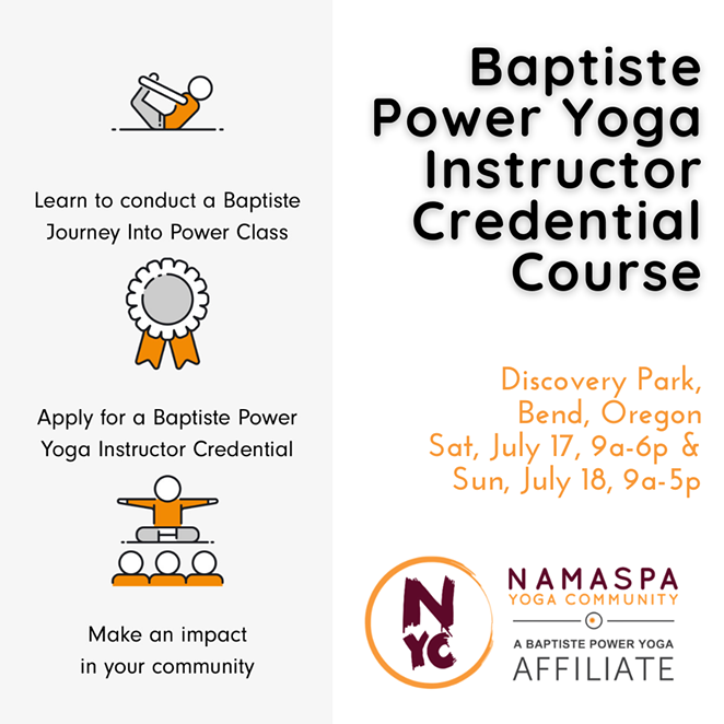 Baptiste Power Yoga Instructor Credential Course