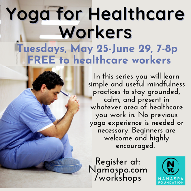 Yoga for Healthcare Workers