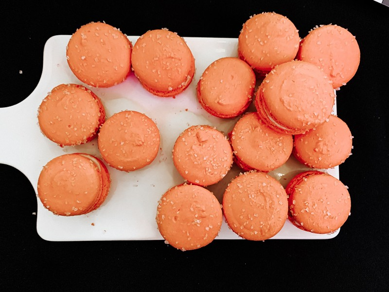 Too Sweet Cakes' macarons. - NANCY PATTERSON