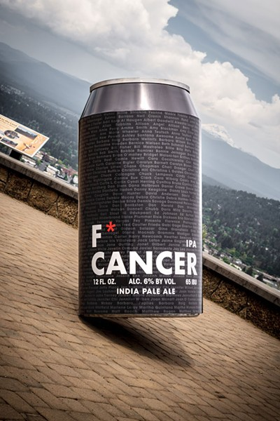 """The """"little"""" can that could... help fight cancer. - COURTESY SILVER MOON"""