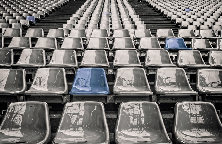 An empty stadium - an ominous representation of what might be to come (and what is already happening). - PIXABAY