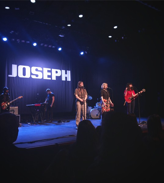 A shot from the last show staff writer Isaac Biehl attended before Stay At Home orders. Joseph played the Tower Theatre on March 8, 2020. - ISAAC BIEHL
