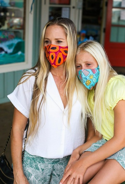 Meli Wraps handmakes eco friendly, functional and summertime-friendly face covers. - MELI WRAPS