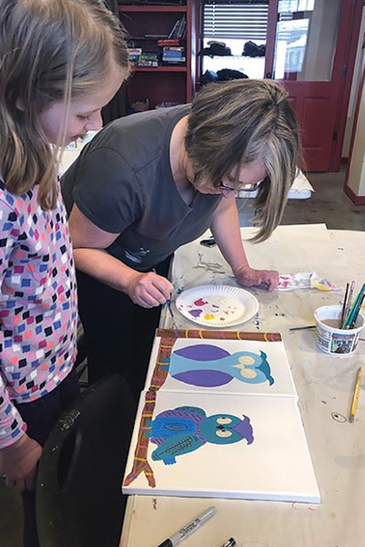 Check out Dual Canvas Painting at the Art Station August 23 - SUBMITTED
