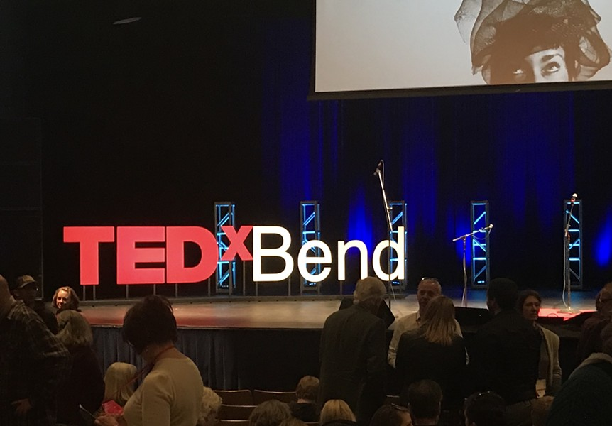 TEDxBend 2018 was held at Bend High School on March 31. - KEELY DAMARA