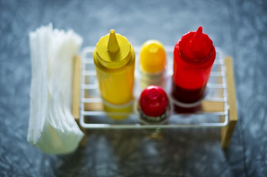 Mmmmm... condiments. - R NIAL BRADSHAW
