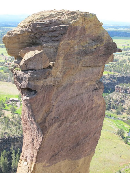 Monkey Face at Smith Rock. - DAVID SWORD