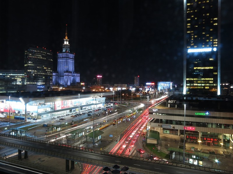 "In Poland, most cities are part of the ""Smart City 2.0"" model, described as ""intelligent use of modern technology to improve the quality of life of residents."" Poland's capital city, Warsaw, is part of that model. - MAX PIXEL"