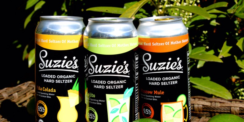 This seltzer is hard, loaded and organic. What's not to like?