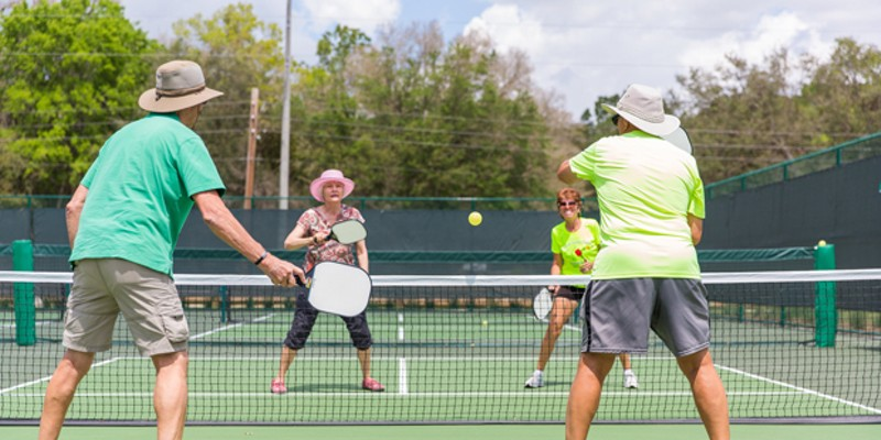 Folks of all ages have discovered the fun of pickleball.