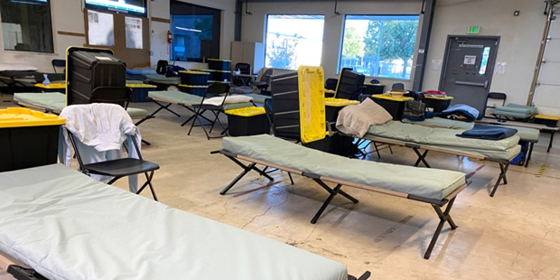 Up to 70 people can stay at the Shepherd House Second Street shelter.