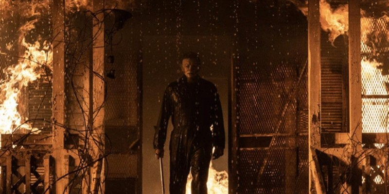 Michael Myers in that incredibly creepy mask.