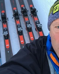 Barry Galvin skied his way into his career.