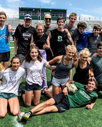 The Summit High School cross country team.