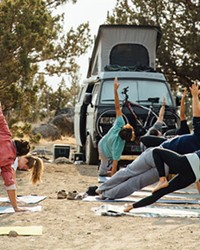 Chili cookouts, morning yoga and a fundraiser for the Oregon Natural Desert Association are some of the activities van lifers can look forward to at Descend on Bend.