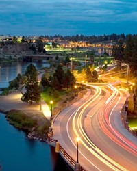 Drive, walk, bike, (or paddle!) east along the Deschutes River past Farewell Bend, the turn in the river for which the city was named.