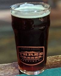 Chill Axe Winter Warmer at Three Creeks Brewing