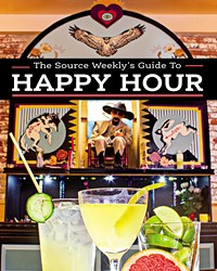 Get a look at those gorgeous cocktails! Just kidding… those are mocktails. A drinky trend this year involves booze-free  drinks that still let you sip with style—like the  ones featured on this Happy Hour Guide cover, from the mocktail menu at San Simon Bend. Check them out at 845 NW Tin Pan Alley in Bend.