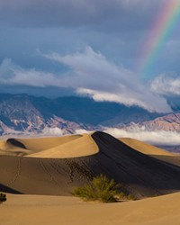 Sand dunes in Death Valley National Park, California. The Great American Outdoors Act grants over $6.5 billion to the National Park Service, about half of the $12 billion in overdue projects the agency has.