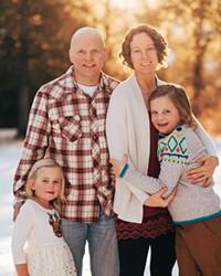 The O'Connor Family: Kaia, Cam, Shanti and Nolan
