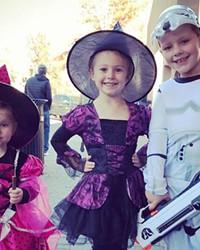 Costumed kids participate in last year's Halloween festivities – pre-COVID.