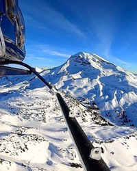 @flycascades shared this awesome shot of our gorgeous mountains this week. Who's up for a bluebird day on the slopes? Tag @sourceweekly on Instagram for a chance to be featured here.