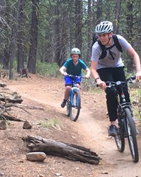 Phil's Trailhead is Bend's well-known bike network and the start of over 300 miles of single track mountain biking winding throughout the Deschutes National Forest.