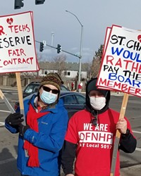 Techs at St. Charles have been negotiating for over a year for a new contract.