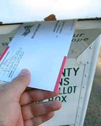Mail-in ballots for the May 18 election will be sent out starting April 28.