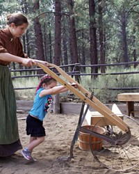 Come out to the ranch and help hand plow the garden, plant potatoes and learn how they get their seeds at the High Desert Museum.