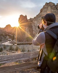 We just can't get enough of the beauty of this big rock! Thanks for sharing your sunbursts at Smith Rock with us @bendphototours. Tag us @sourceweekly for your chance to be featured here and in the Cascades Reader, our daily digital newsletter.