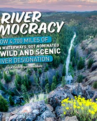 A river runs through this magnificant land -- the North Fork Crooked River.