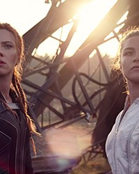 """Scarlett Johansson and Florence Pugh blow things up really well in """"Black Widow."""""""
