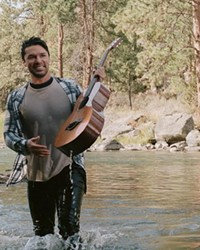 """A live look at Meekoh during his video shoot for """"From The River."""""""