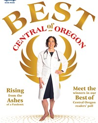 The 2021 Best of Central Oregon cover, featuring Dr. Jessica Morgan of Praxis Health