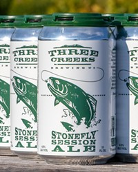 Three Creeks Brewing Stonefly Session Ale.