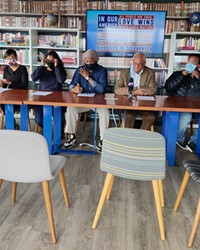 The Restorative Justice and Equity group hosted several other activist groups after the shooting of Barry Washington, Jr.