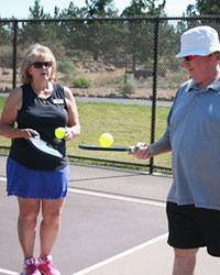 20/40/60: Pickleball: Why yes, this is your mama's racquet sport!