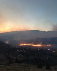 The Nena Fire in Warm Springs grew to about 46,000 acres Thursday.