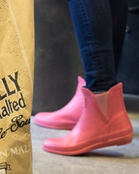 These boots are made for brewing—a special recipe.