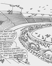 TGIF—Racing Isn't What It Used To Be