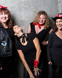 Ashleigh Flynn & The Riveters bring their all-female, rock-meets-Americana sound to the Domino Room 11/23.
